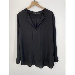 Banana Republic Long Sleeve Blouse Black Size L